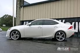 lexus is 250 custom wheels lexus is with 20in lumarai morro wheels exclusively from butler