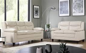 3 Seater Cream Leather Sofa Ivory U0026 Cream Leather Sofas Furniture Choice