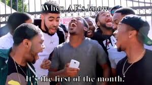 First Of The Month Meme - when afs know its the first of the month meme meme rewards