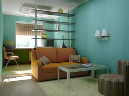 Narrow Living Room Design by Narrow Long Living Room Idea With Awesome Wall Painting