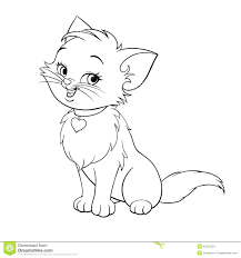 cutest kitten coloring pages cute free printable realistic of cats