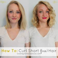 best curl enhancer for thin hair how to curl short fine hair tutorial all about fine hair