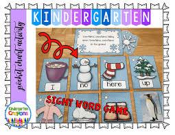 kindergarten crayons post vacation winter work