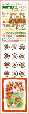 158 best thanksgiving printables images on