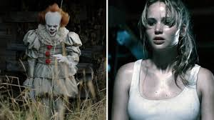 horror box office showdown u0027mother u0027 movie takes on u0027it u0027 movie