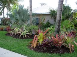 Landscaping Ideas For Front Yard by Front Yard Landscaing With Tropical Seabreeze Landscaping Fort