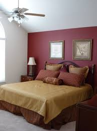 Wall Bed Set Maroon Accent Wall Bedroom Burgundy Accent Wall Pretty Bedroom