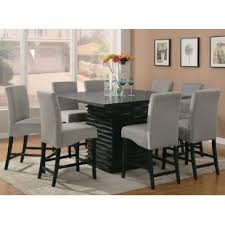 counter height dining table with bench counter height kitchen dining sets styles for your home joss main
