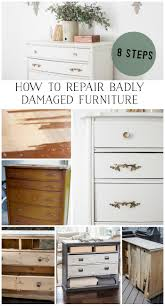 How To Fix A Cabinet Drawer 8 Steps On How To Fix Badly Damaged Furniture So Much Better
