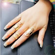 ring set aliexpress buy zinc alloy gold color ring set for 5pcs
