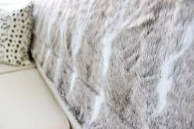 Loblaws Home Decor Am Dolce Vita The Best Faux Fur Throw