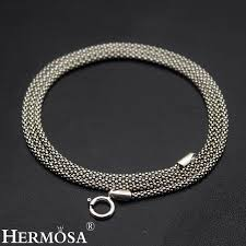 choker necklace charms images 2mm 100 925 sterling silver snake chain necklace retro charms jpg