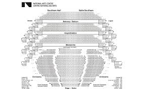 National Theatre Floor Plan by Seating Plans National Arts Centre