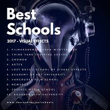 special effects school florida the rookies announce 2017 rankings for best creative media schools