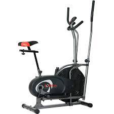 lifemax dual action fan bike flex cardio dual trainer