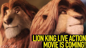 lion king live action movie coming