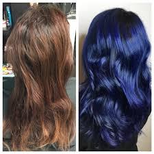 ready for a major change going royal blue career modern salon