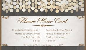 Alumni Meet Invitation Card Sae Expression Students Alumni