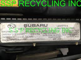 buy 45 2001 subaru outback legacy a c pump bracket p 73611ae070