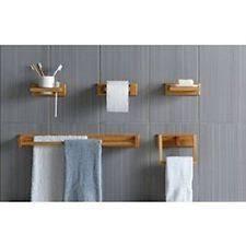 wooden bathroom accessories ebay