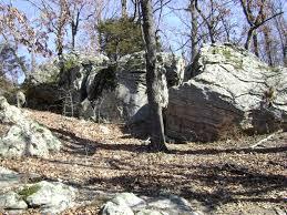 Castle Rock State Park Map by Park Trails Missouri State Parks