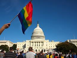 Usa Rainbow Flag White House Says Lgbt Protections For Federal Workers Will Remain