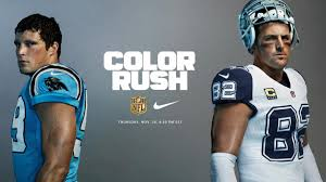dallas cowboys thanksgiving 2015 cowboys u0026 panthers unveil color rush thanksgiving uniforms with