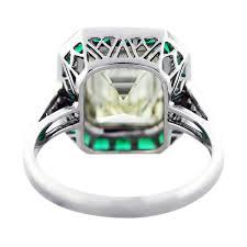 5 Carat Cushion Cut Engagement Rings 5 Ct Emerald Cut Diamond Emerald Platinum Engagement Ring Boca Raton