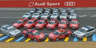 audi support photographic audi 24 hours of lemans support vehicles