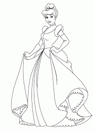 easy pencil drawings cinderella coloring pages princess