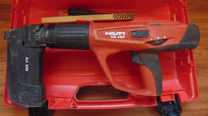 hilti dx 460 powder actuated tool mx 72 mag in case w manual