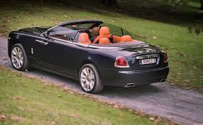 roll royce orange rolls royce dawn shows its true colours road tests driven