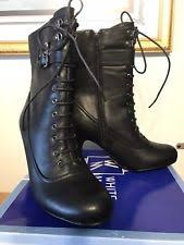 s lace up boots size 9 white mountain lace up boots for us size 9 ebay