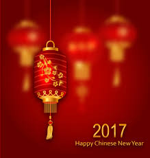 Lunar New Year Decoration Vector by Lantern With Chinese New Year Red Background Vector 02 Vector