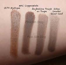 Taupe Color Pink Sith Maybelline Color Tattoo 24 Hour Eyeshadow In Tough As