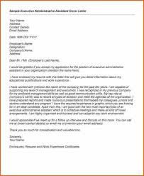 8 sample cover letter administrative assistant cover letter for a