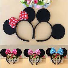 minnie mouse and mickey mouse party supplies headband hair band