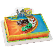 hot wheels cake decopac hot wheels ride cake kit