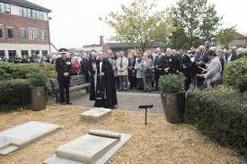 memorial garden families remember loved ones at memorial garden dedication ceremony