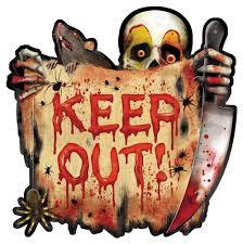 creepy carnival cutout