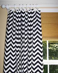 Gray And White Curtains Wall Decor Charming Chevron Curtains In Grey And White Matchen