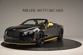 matte black bentley 2017 bentley continental gt speed black edition convertible stock