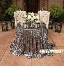 wedding linens for sale big sale 120 300cm shiny silver glittery tablecloth blingbling