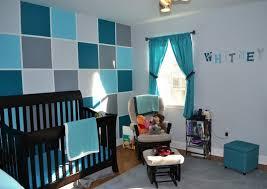 chambre gris et bleu bleu turquoise et gris en 30 idées de peinture et décoration