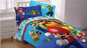 Mario Bros Bed Set Mario Bedding Set Fresh Look Comforter