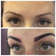 Permanent Makeup Eyebrows Hair Stroke Brows Emma Cleeve Permanent Make Up Consultant