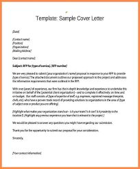 proposal cover letters sample business proposal cover letter 7