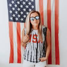 American Flag Backdrop Summer Blend July 2017 Independence Day Edition Blenders Eyewear