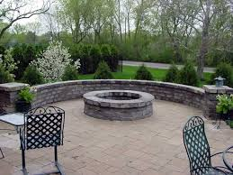 Unilock Fire Pit by Brussels Dimensional Limestone Seat Wall Pillar And Fire Pit