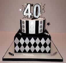 40th birthday cake reha cake